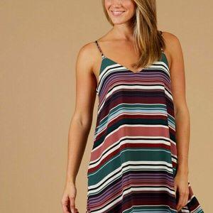 NWT Altar'd State Carolinas Dress Striped Sz Small